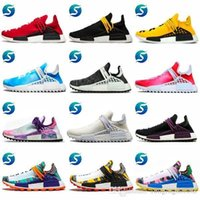 07fc9ac7052bd Nmd Human Race New Pharrell Williams Hu Trail Equality Holi Mens Designer  Sports Running Shoes Men Sneakers Women Casual Trainers With Box