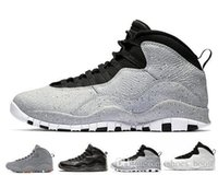 32c1789fc38386 10 10s Westbrook Cool Grey I m Back Men Basketball Shoes Drake Bobcats  Stealth Mens Sports Sneakers Trainers Outdoor Designer Running Shoes