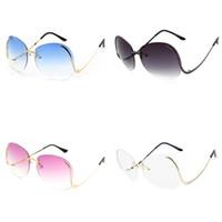 d633e165d10 Wholesale white eyeglass frames for women online - Irregularity Dazzle  Sunglasses For Women Bardian Sunglass Metal