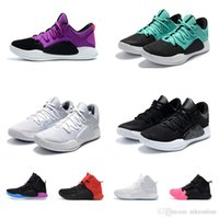 86c9d976cd7 2018 Mens Hyperdunk low basketball shoes x 10 new arrival Oreo BHM Christmas  Black Blue White Purple Red Aunt Pearl KD 11 with box for sale