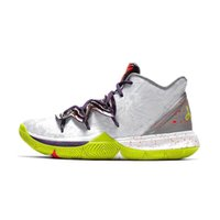 917020336b49 Cheap mens kyrie 5 basketball shoes Mamba Day White Grey Yellow Green youth  kids kyries irving sports sneakers tennis with box size 7 12