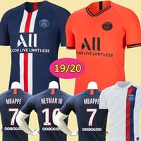 Wholesale soccer jerseys resale online - Maillots de foot PSG soccer jersey Paris MBAPPE saint germain jersey camisetas football kit champions shirt men kids sets