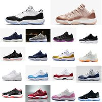 a1df98349 Retro womens 11s low basketball shoes for sale j11 Closing Ceremony Easter  Concords UNC Boys Girl Youth Kids Jumpman 11 XI sneakers with box