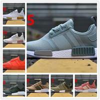 041ca9d5eac73 2018 Fashion NMD Runner R1 Mesh Triple Salmon City Paclk Men Women Running  Shoes Sneakers Original NMDs Runer Primeknit Sports Shoes