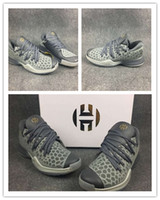 96d7c70bb7f3 Wholesale High Quality 2018 New Harden Vol.2 Grey Yellow Mens Basketball  Shoes Men fashion Sports Sneakers Shoes size US7-12