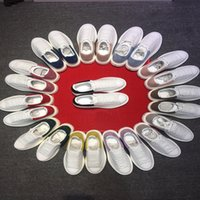 dd6355d2863c MC White Casaul Shoes Designer Italy Brand Mens and Women Shoes 2019 Low  Cut Leather Trainers Sneakers 36-44