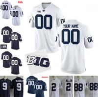 Wholesale college football jerseys for sale - Group buy Custom Penn State Nittany PSU College Football Man Women Kids Micah Parsons KJ Hamler Nick Scott Hamilton Stevens Jerseys