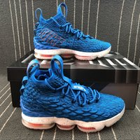 745387fa76c7 07  High Quality Newest Ashes Ghost Lebron 15 Basketball Shoes Arrival  Sneakers 15s Mens Casual 15s King James sports shoes LBJ EUR 40-46