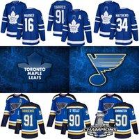 Wholesale hockey jerseys for sale - Group buy St Louis Blues Jersey Stanley Cup Champions Toronto Maple Leafs William Nylander Hockey Jerseys Tarasenko O Reilly Schwartz