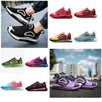 5430fdc4abb838 2019 Top Air 720 Running Shoes Online for Men and Women Athletic Sports  Rainbow Color 720 Designer Shoes Air Sneaker