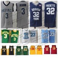 e43d7fb64937 Wholesale kobe red online - Iverson NCAA College Basketball jersey James  Michae Davidson Wildcatsl Wade LeBron