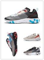 17d5e1cf6e05 Epic React Element 87 running shoes for men women NEPTUNE GREEN white blace  blue mens trainer designer breathable sports sneakers 36-45