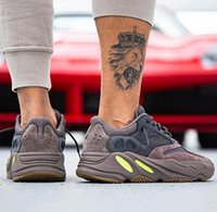 0ef27baed High quality for Cheap Wave Runner Mauve 700 Brown Running Shoes for Mens  Women Trainers Kanye West x Sports Designer Sneakers US5-11.5