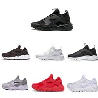 c1c238ad4476 2019 huarache 1.0 4.0 triple black white gold red fashionmens running shoes  huaraches mens trainers women sports sneaker on sale