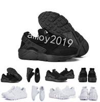 info for 22fa9 90f85 New Air Huarache Ultra Running Shoes Men Women Huaraches Classic White  Black Huraches Mens Trainers Hurache Sneakers Size 36-46