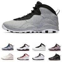 2db80b30479808 Design shoes 10s Westbrook Cool Grey Back men basketball shoes Drake  Bobcats Steel MenSportsMen Sneakers outdoor trainer