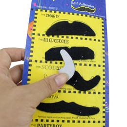1 Set De Moustaches yeux et lèvres non assemblées couleurs assort