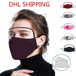 A 【Shipping from US!!!】5pcs Halloween Adult 3Ply Ear Loop Dust Windproof Bandanas Breathable Guard Nose Washable Reusable Cover