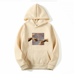 Couple Matching Hoodies roi et reine Pulls Pull Sweat Hiver Tops