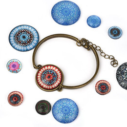 for DIY Bracelets Link Making Accessories About 12mm Tray Stainless Steel Links with Transparent Glass Cabochons UNICRAFTALE 50 Sets Round Blank Cabochon Connector Settings About 11.5-12mm