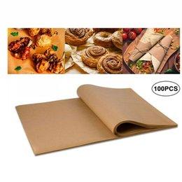 Eco Friendly Réutilisable Cuisson Papier Non Stick Bakeware Tôles de four