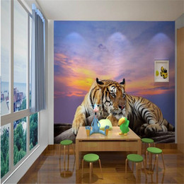 Mural tigre murale sticker la fresque de don Cappello