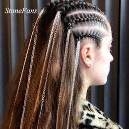 Dreadlock Perles Cheveux Tresse Anneau DIY Réglable Cristal Coeur Manchette Clip