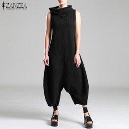 Long JP0362CV Drop Crotch Jumpsuit Jumpsuit Women Black Jumpsuit Harem Jumpsuit Baggy Jumpsuit Polka Dot Jumpsuit Black Overall