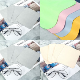 VNDEFUL 20pcs Colorful Jewelry Cleaning Cloth Polishing Cloth for Sterling Silver Gold Platinum and Lens Glasses Screens Watches Coins Instruments