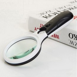 20-40X Portable Pocket Mini Microscope Handheld Magnifying Glass with LED Light for Identification Stamp Collecting Porcelain Coin Jewel Jade