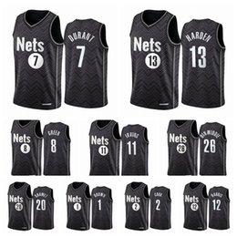 BXWA-Sports Mens Brooklyn Nets # 11 Irving Jersey Basketball Jerseys Breathable Wear-Resistant Match Fans Jersey,1,S 170cm//50~65kg