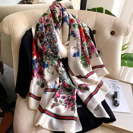 Fenchurch 100/% coton blanc imprimé floral écharpe-Neuf avec Étiquettes £ 4.99