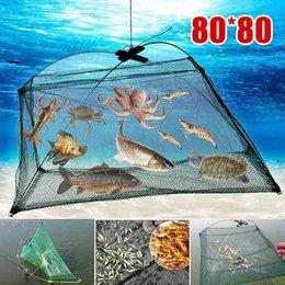 Faltbare Fischköderfalle Krabbennetz Crawdad Shrimp Cast Fisch Minnow Käfig A9L0