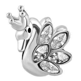 20mm 10 Pack Swan Jewelry Charms For Jewelry Making Bulk Pack CHA1211