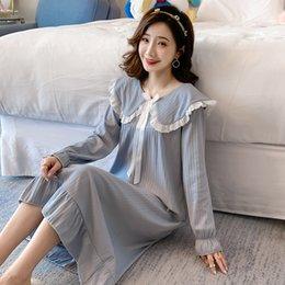 LQSZ Filles Chemises de Nuit Princesse Nuisette Chemise de Nuit /à Manches Courtes /à Volants Robe de Nuit pour 2-8 Ans Enfants Cadeau Bleu