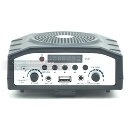 MHONGD Portable Mini Dolphin Waistband Voice Ampilifier Recording Singing Sd Card Player Loudspearke