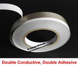 3//5//6//10mm*20m Double Side Copper Foil Tape EMI Shielding Conductive Adhesive