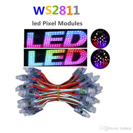 Wholesale Addressable WS2811 LED Pixel Digital Diffuse 12mm RGB Light IP68 5V12V