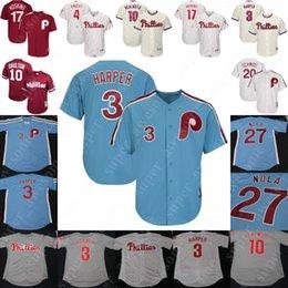mlb jerseys 2019 - Philadelphia Rhys Hoskins Phillies Jersey Aaron Nola JT Realmuto Scott Kingery Corey Dickerson Chase Utley Mike Schmidt
