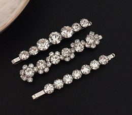 Cute Arylic Love Hair Clips Crystal Barrette Stick Shiny Marble Hairpin Styling