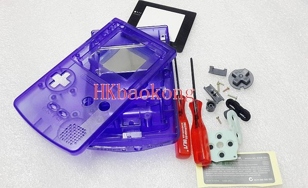 Retail And Wholesale Sapphire Blue Case Shell Full Housing For Gameboy  Color For Gbc Electronics Online Shop Electronics Sale Online From Hkchien,