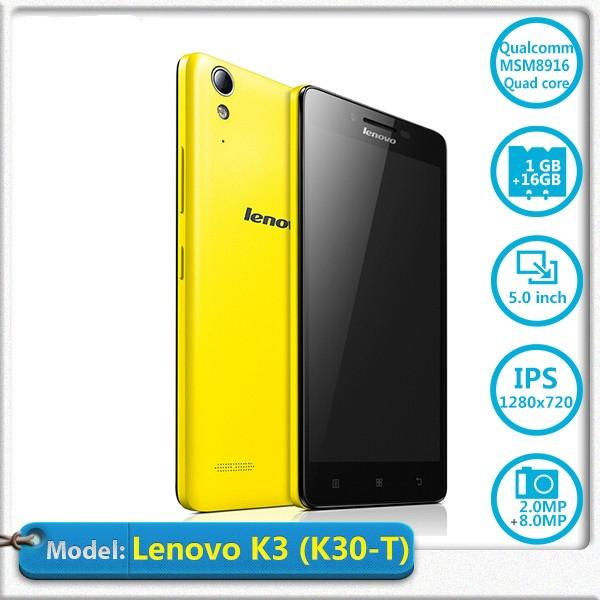 Cheap 4g 5 0inch Unlocked Android Phone Lenovo Lemo K3 Upgrade K3 Note  Qualcomm Msm8916 Octa Core Cell Phone 2g+16g 13 0mp 3g Phone, Buy Android