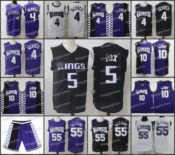 cheaper ce996 6f776 2017 Hot Basketba Shirts Sacramento,Men Youth Women Kings,15 Demarcus  Cousins,55 Jason Williams,4 Chris Webber, 5 Fox Jersey From Hot_aa_jersey4,  ...