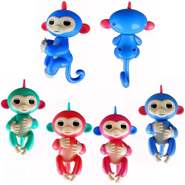 Cheap Monkey Figure Model Fingerlings Baby Monkeys Colorful Fingers Llings  Toys Best Gifts For Kids No Function From Caig, Bulk Shop Cat Finger