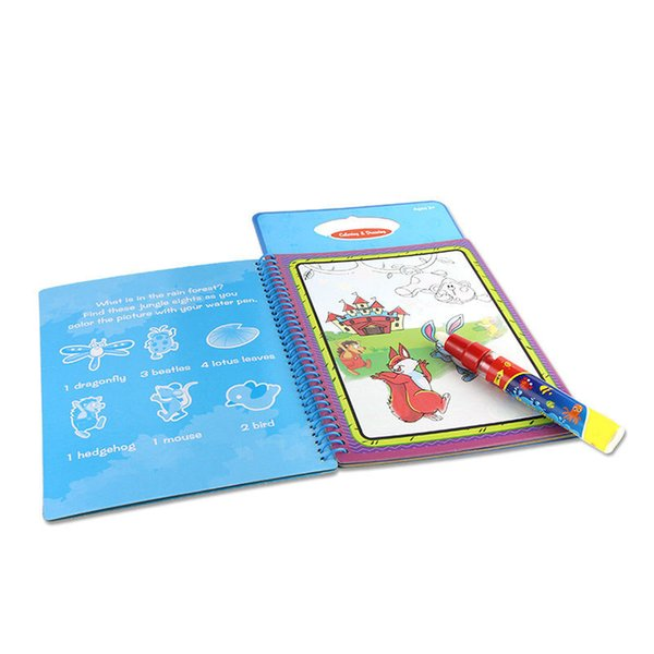 Cheap New Arrives Magic Kids Water Drawing Book With 1 Magic Pen / Intimate  Coloring Book Water Painting Board From Dzj110140170, Bulk Shop Colouring  ...
