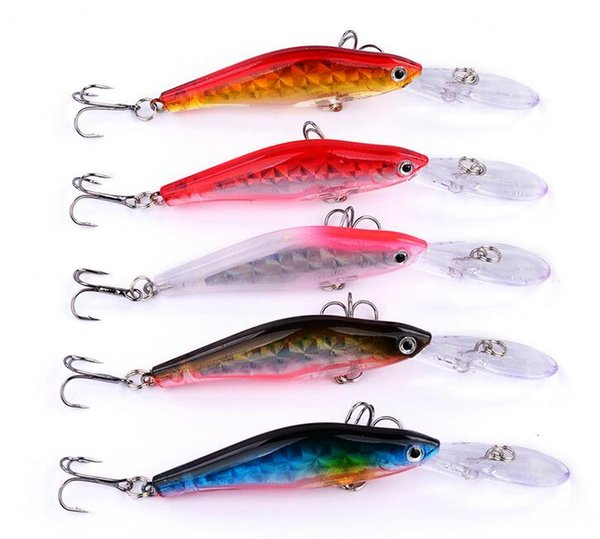latest special model fishing bait 10cm/7g fishing lures 6#hook, Hard Baits