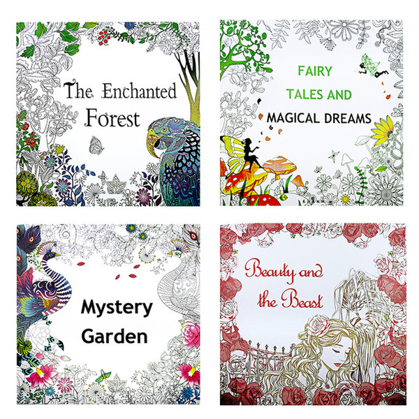 Cheap New Adult Coloring Books 12 Pages 24 Faces 25*25cm Drawing Books  Coloring Painting Many Coloring Painting Toys From Toppartysupply, Bulk  Shop ...