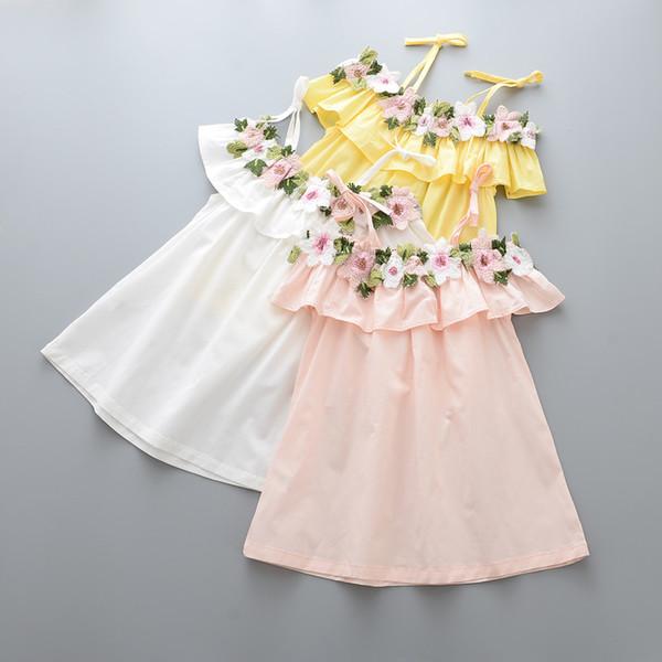 Weibes kleid rosa farben