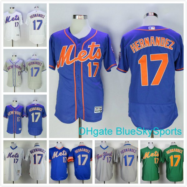 online retailer c5f6f 84c1a 2017 Throwback Keith Hernandez Jersey #17 New York Mets Retro Baseball  Jerseys White Blue Gray Green Mens Flex Base All Stitched From  Blueskysports, ...