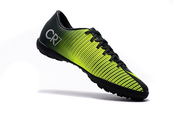 669b152c28d 2017 2017 Kids Soccer Shoes 100% Original Mercurial Superfly V Cr7 Tf Black  Yellow Women Indoor Children Football Boots Dhl Free From Love_soccer, ...